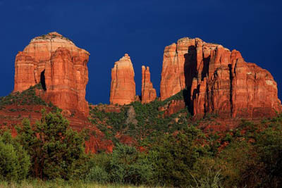 Picture of Cathedral Rock in Sedona AZ
